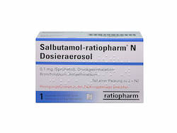 Asthmaspray Salbutamol-ratiopharm