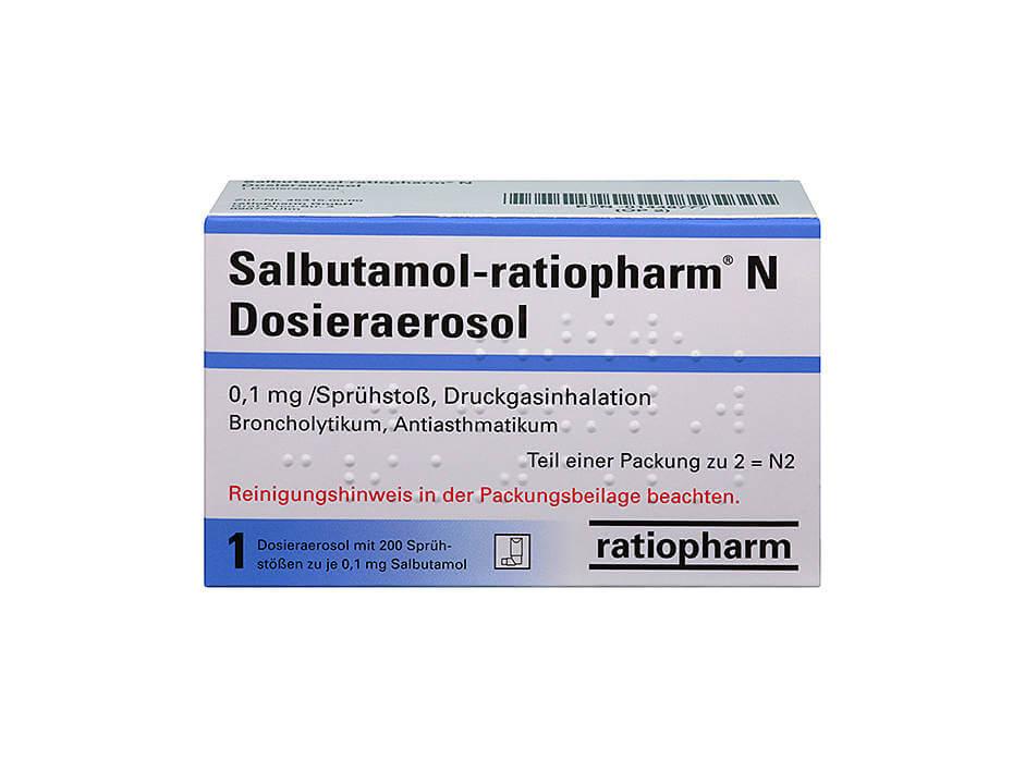 Salbutamol-ratiopharm Asthmaspray