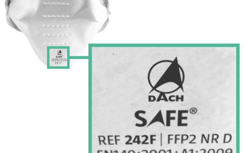 FFP2 Maske Kennzeichnung